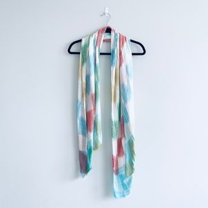 North Style Colorblock Scarf